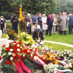 Finally a wreath was laid by David Dobson, the Secretary and one of the founders of the Stichting MGVA which was formed in Holland in June 1988. Friday, 17th September 1993, 11.15 hrs.