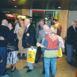 The arrival in the Airmans' canteen of Limos. Monday, 1st May 1995, 21.30 hrs.