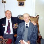 Robert Raybould from Edenbridge, U.K., met his war time host Jan Verwey in the old people's home in Malden. Tuesday, 17th September 1996, 21.00 hrs.