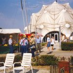 The liberation market at the Groesbeek liberation museum. Sunday, 12th September 1999, 14.30 hrs.