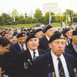 The pass by at the tribune on the Trianus square. Thursday, 16th September 1999, 19.00 hrs.