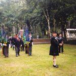 Entering the Jonkerbos War Cemetery at Nijmegen. Friday, 17th September 1999, 12.00 hrs.