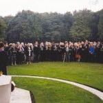 The commemoration at the Jonkerbos War Cemetery. Friday, 17th September 1999, 12.00 hrs.