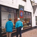 Window shop with memorabilia at Overasselt. Friday, 17th September 1999, 14.00 hrs.