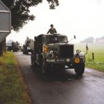 Keep them rolling tour at the Derde Baan at Groesbeek. Friday, 17th September 1999, 15.00 hrs.