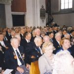 Waiting for the service in the St. Stevens church. Sunday, 19th September 1999, 10.30 hrs.