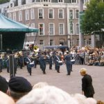 The music show by the Dutch Royal Airforce band. Sunday, 19th September 1999, 16.00 hrs.