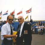 We'll meet again. Me and Capt. Eric Briggs (89) from Sutton Coldfield. Sunday, 19th September 1999, 16.30 hrs.