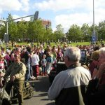 The commemoration at the 'Traianusplein'. Sunday, 19th September 2004, 15.00 hrs.