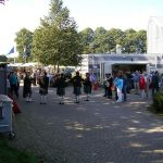 Liberation Market on the museum grounds of the Groesbeek liberation museum. Sunday, 18th September 2005, 15.00 hrs.