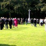 The arrival at the Jonkerbosch War Cemetery. Saturday, 16th September 2006, 10.58 hrs.
