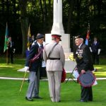 The arrival at the Jonkerbosch War Cemetery. Saturday, 16th September 2006, 11.03 hrs.