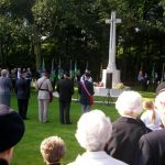 The service at the Jonkerbosch War Cemetery. Saturday, 16th September 2006, 11.04 hrs.