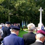 The service at the Jonkerbosch War Cemetery. Saturday, 16th September 2006, 11.07 hrs.