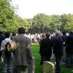The service at the Jonkerbosch War Cemetery. Saturday, 16th September 2006, 11.16 hrs.