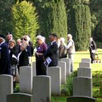 The service at the Jonkerbosch War Cemetery. Saturday, 16th September 2006, 11.19 hrs.