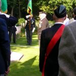 The service at the Jonkerbosch War Cemetery. Saturday, 16th September 2006, 11.24 hrs.