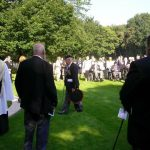 The service at the Jonkerbosch War Cemetery. Saturday, 16th September 2006, 11.25 hrs.
