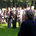 The service at the Jonkerbosch War Cemetery. Saturday, 16th September 2006, 11.28 hrs.
