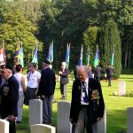 The service at the Jonkerbosch War Cemetery. Saturday, 16th September 2006, 11.32 hrs.