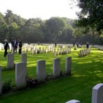 The departure from the Jonkerbosch War Cemetery. Saturday, 16th September 2006, 11.36 hrs.