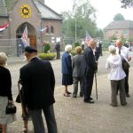 The arrival for the Church service at Molenhoek. Sunday, 17th September 2006, 10.54 hrs.