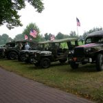 The arrival at the Groesbeek Liberation museum. Sunday, 17th September 2006, 14.23 hrs.