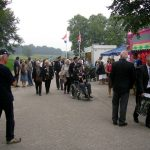 The arrival at the Groesbeek Liberation museum. Sunday, 17th September 2006, 15.05 hrs.