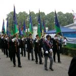 The arrival at the Groesbeek Liberation museum. Sunday, 17th September 2006, 15.16 hrs.