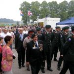 The arrival at the Groesbeek Liberation museum. Sunday, 17th September 2006, 15.17 hrs.