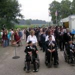 The arrival at the Groesbeek Liberation museum. Sunday, 17th September 2006, 15.18 hrs.
