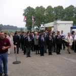 The arrival at the Groesbeek Liberation museum. Sunday, 17th September 2006, 15.20 hrs.