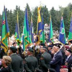 The hand over of the Standards to the Groesbeek Liberation museum. Sunday, 17th September 2006, 15.53 hrs.