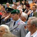 The hand over of the Standards to the Groesbeek Liberation museum. Sunday, 17th September 2006, 16.12 hrs.