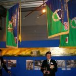 The hand over of the Standards to the Groesbeek Liberation museum. Sunday, 17th September 2006, 16.34 hrs.