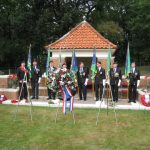Commemoration at the Mook War Cemetery. Wednesday, 16th September 2009, 12:51 hrs.