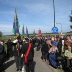 The commemoration at the monument near Grave bridge. Line up for the ceremony. Thursday, 17th September 2009, 14:53 hrs.