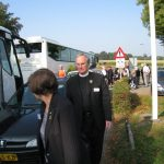 The hand over of the MGVA standards at the Groesbeek liberation museum. Reflection by Rev. Mr. A. Ballard from the UK. Saturday, 19th September 2009, 10:54 hrs.