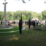 The commemoration at the Jonkerbos War Cemetery at Nijmegen. Saturday, 19th September 2009, 14:50 hrs.