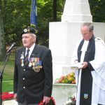 The commemoration at the Jonkerbos War Cemetery at Nijmegen. The Exhortation by Charles Reeves. Saturday, 19th September 2009, 14:54 hrs.