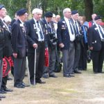 The commemoration at the Jonkerbos War Cemetery at Nijmegen. Saturday, 19th September 2009, 14:55 hrs.