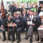 Presentation of the standards at the Liberation museum at Groesbeek. Ceremony in the dome of Honour. Saturday, 17th September 2011, 12:34 hrs.