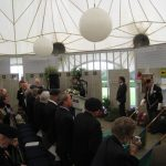 Presentation of the standards at the Liberation museum at Groesbeek. Ceremony in the dome of Honour. Saturday, 17th September 2011, 12:39 hrs.