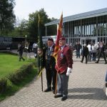 Presentation of the standards at the Liberation museum at Groesbeek. Ceremony in the dome of Honour. Saturday, 17th September 2011, 12:53 hrs.