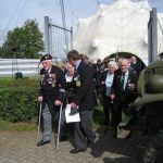 Presentation of the standards at the Liberation museum at Groesbeek. Ceremony in the dome of Honour. Saturday, 17th September 2011, 12:55 hrs.