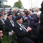 Presentation of the standards at the Liberation museum at Groesbeek. Unveiling listening location 39. Saturday, 17th September 2011, 13:02 hrs.