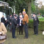 Commemoration at the British War Cemetery at Mook. Sunday, 18th September 2011, 15:44 hrs.