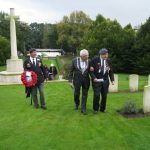 Commemoration at the British War Cemetery at Mook. Sunday, 18th September 2011, 15:48 hrs.