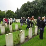 Commemoration at the British War Cemetery at Mook. Sunday, 18th September 2011, 15:49 hrs.
