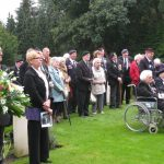 Commemoration at the British War Cemetery at Mook. Sunday, 18th September 2011, 15:51 hrs.